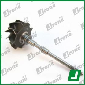 Turbocharger shaft and wheel for VW | 705650-0001, 705650-1