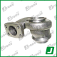 Turbo housing Carter | CITROEN, FORD, PEUGEOT, VOLVO - 1.6 HDI, 1.6 TDCI 90, 92 cv | 49173-07502, 49173-07508