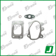 Turbocharger kit gaskets for FORD | 708257-0001, 708257-1