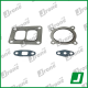 Turbocharger kit gaskets | 409200-5013, 409200-0004
