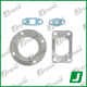 Turbocharger kit gaskets | 454007-0001, 454007-0002